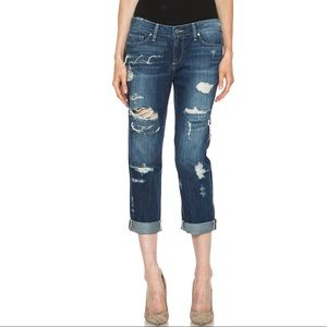 Paige James Crop Willa Destroyed Jeans